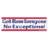 God bless everyone no exceptions Single