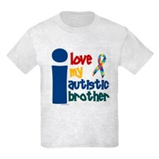 I Love My Autistic Brother 1 T-Shirt