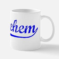 Vintage Bethlehem (Blue) Mug