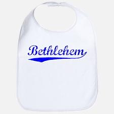 Vintage Bethlehem (Blue) Bib