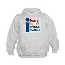 I Love My Autistic Brothers 1 Hoodie