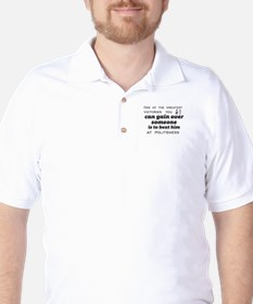 One of the greatest victories you can g Golf Shirt