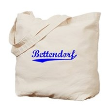 Vintage Bettendorf (Blue) Tote Bag