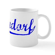 Vintage Bettendorf (Blue) Mug
