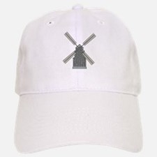 Classic Windmill Baseball Baseball Cap