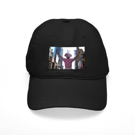 Minnie Pearl Black Cap