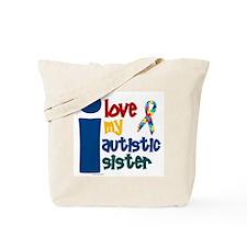 I Love My Autistic Sister 1 Tote Bag