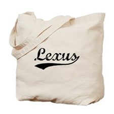 Vintage Lexus (Black) Tote Bag