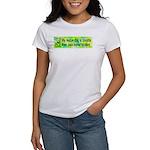 Women's T-Shirt. Smart rescue dog.