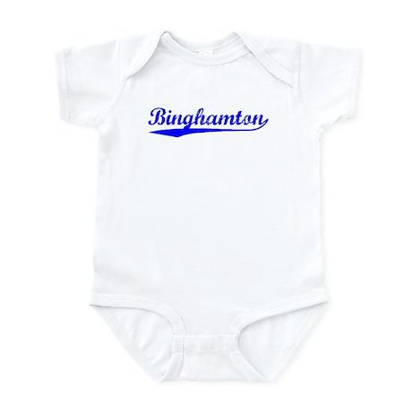 Vintage Binghamton (Blue) Infant Bodysuit
