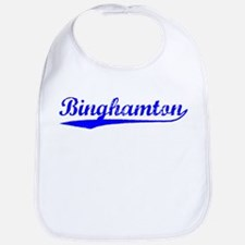Vintage Binghamton (Blue) Bib