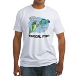 Topical Fish Fitted T-Shirt
