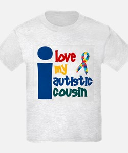 I Love My Autistic Cousin 1 T-Shirt
