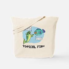 Topical Fish Tote Bag