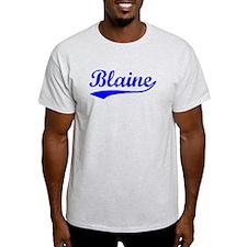 Vintage Blaine (Blue) T-Shirt