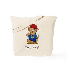 Gangsta Dog Tote Bag