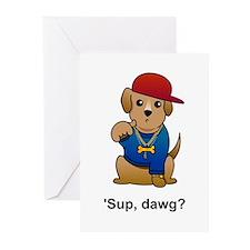 Gangsta Dog Greeting Cards (Pk of 10)