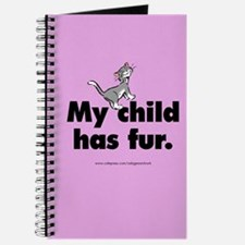 Journal. My child has fur (cat)