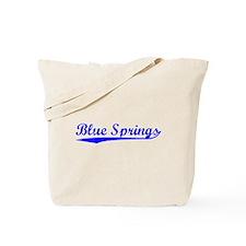 Vintage Blue Springs (Blue) Tote Bag