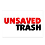 Unsaved Trash Postcards (Package of 8)