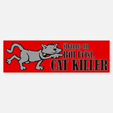 Bill Frist, Cat Killer Bumper Bumper Bumper Sticker