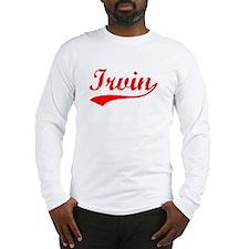 Vintage Irvin (Red) Long Sleeve T-Shirt