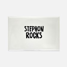 Stephon Rocks Rectangle Magnet