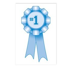First Place Blue Ribbon Postcards (Package of 8)