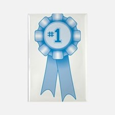 First Place Blue Ribbon Rectangle Magnet
