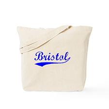 Vintage Bristol (Blue) Tote Bag