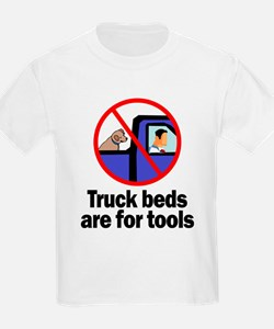 Truck Beds For Tools Kids T-Shirt
