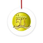 50th Anniversary Keepsake (Round)