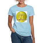 50th Anniversary Women's Pink T-Shirt