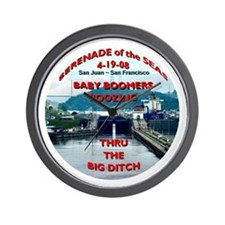 Baby Boomers Boozing ~ The Big Ditch - Wall Clock