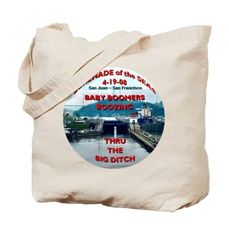 Baby Boomers Boozing ~ The Big Ditch - Tote Bag