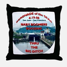 Baby Boomers Boozing ~ The Big Ditch - Throw Pillo