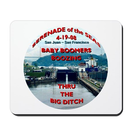 Baby Boomers Boozing ~ The Big Ditch - Mousepad