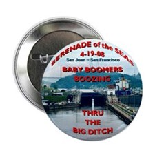 """Baby Boomers Boozing ~ The Big Ditch - 2.25"""" Butto"""
