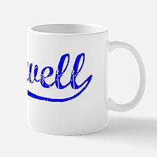 Vintage Caldwell (Blue) Mug