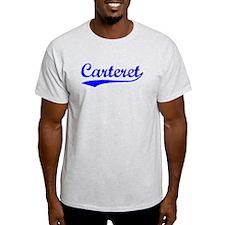 Vintage Carteret (Blue) T-Shirt