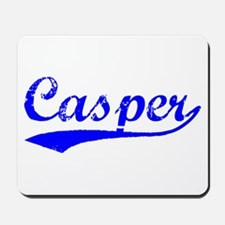 Vintage Casper (Blue) Mousepad