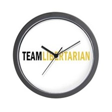 Team Libertarian Wall Clock