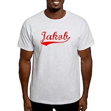Vintage Jakob (Red) T-Shirt