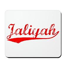 Vintage Jaliyah (Red) Mousepad