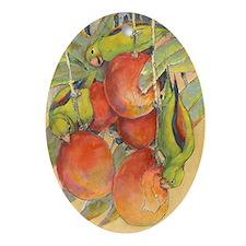 Mango Tango Oval Ornament