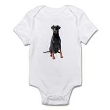 Doberman Pinscher Picture - Infant Bodysuit