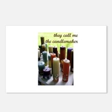 Candlemaker - Candlemaking Cr Postcards (Package o