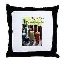 Candlemaker - Candlemaking Cr Throw Pillow