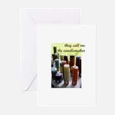 Candlemaker - Candlemaking Cr Greeting Cards (Pk o