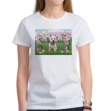 Blossoms & West Highland Tee